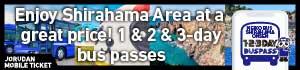 Meiko Bus Shirahama Onsen Bus Pass