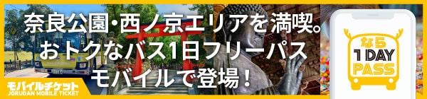 奈良公園・西の京 世界遺産 1-Day Pass