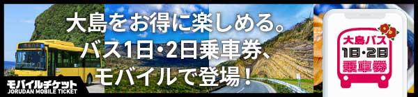 大島バス1日・2日乗車券